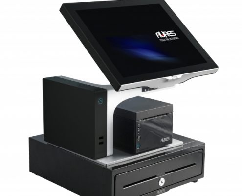 Aures Sango Black Full package odp 333 printer and cash drawer
