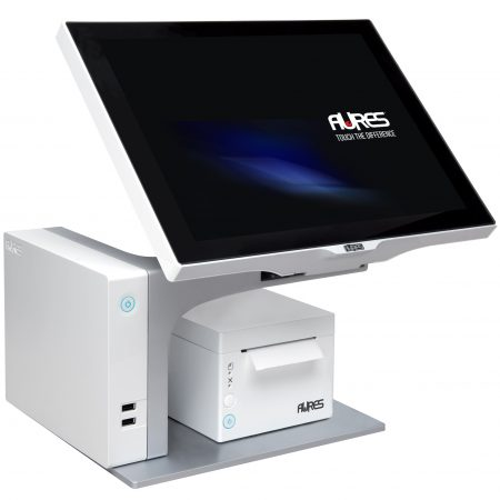 Aures Sango White with white Aures odp 333 receipt printer