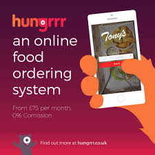 Hungrrr online ordering system
