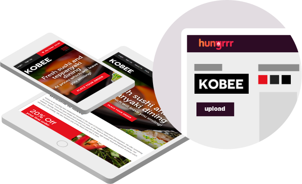 Hungrrr App and Website