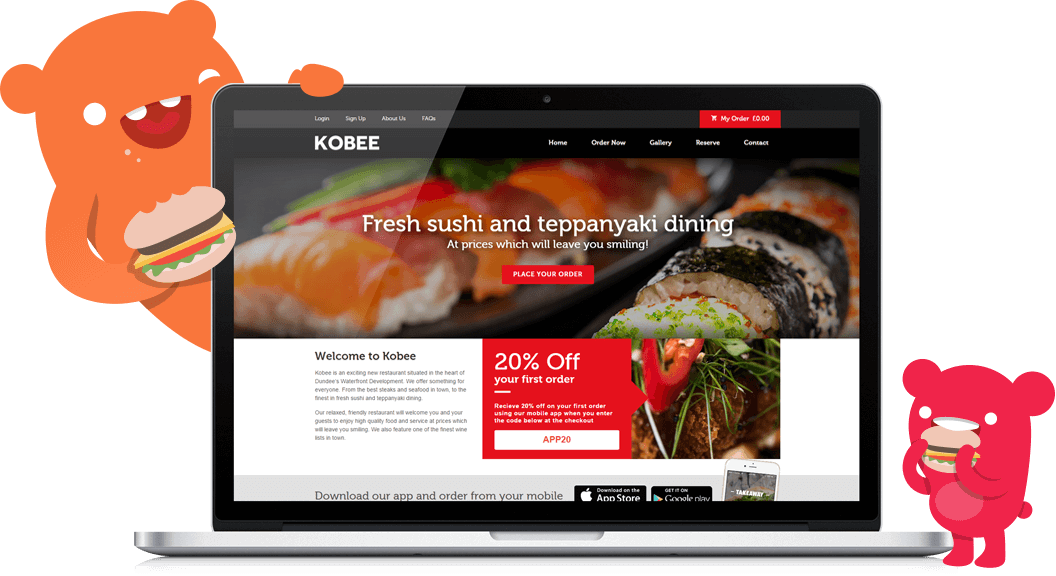 Features of Hungrrr online ordering App